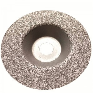 Brazed diamond grinding wheel