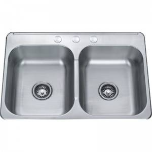 Double Bowls Without Panel DE8042