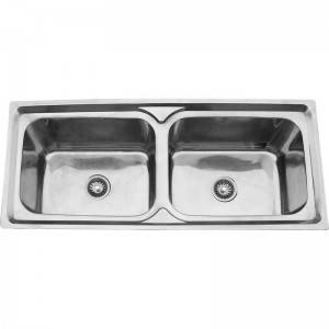 Double Bowls With Panel DS11650
