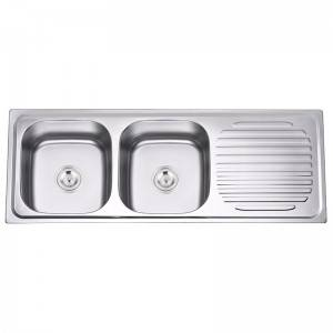Double Bowls With Panel DS12046