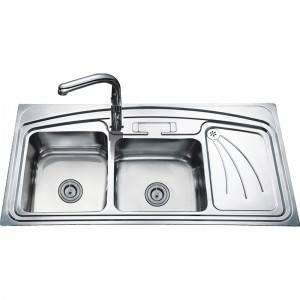 Double Bowls With Panel DS12060B