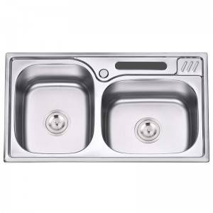 Double Bowls without Panel DS8046