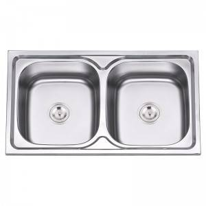 Double Bowls Without Panel JW8550A