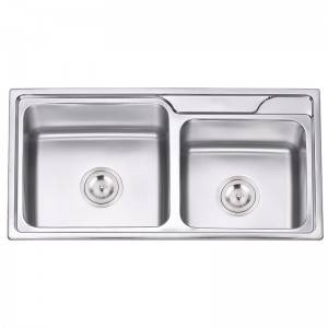 Double Bowls without Panel RDE7941
