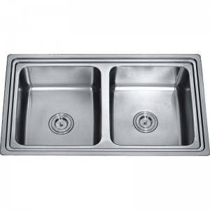 Double Bowls Without Panel RDE8550B