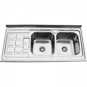 Double Bowls With Panel RS12060