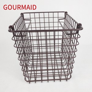 Large Rectangular Wire Storage Organizer