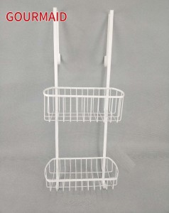 2 Tier Over Screen Shower Caddy
