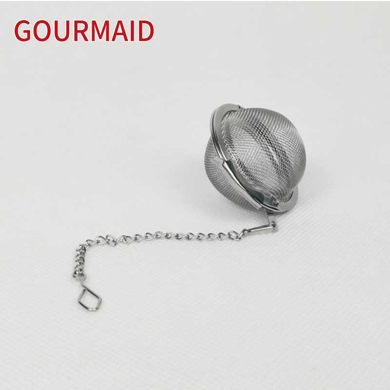 stainless steel mesh tea ball with chain Featured Image