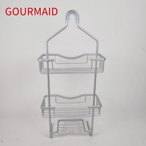 Aluminum Hanging Shower Caddy