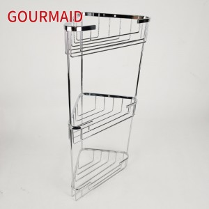 Rust Proof Corner Shower Caddy