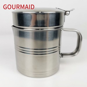 stainless steel kitchen gravy filter