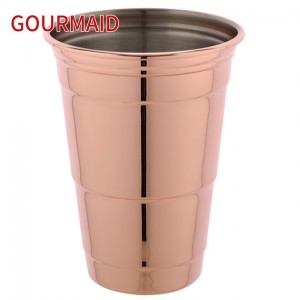 Stainless Steel Drinks Mule Copper Beer Mug