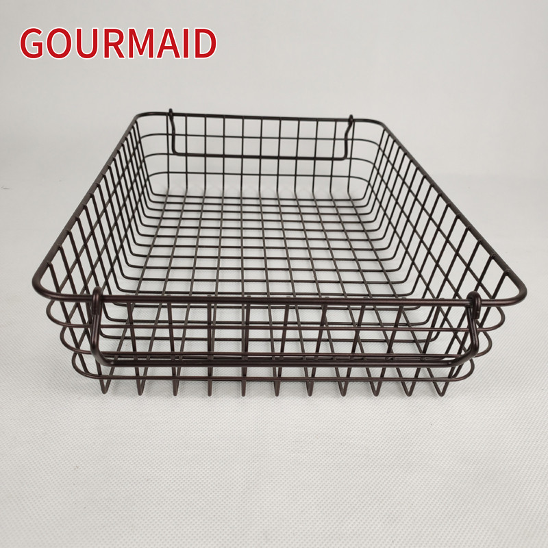 Kitchen Pantry Shallow Wire Baskets Featured Image