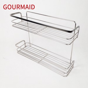 Chrome Plated Steel Shower Caddy
