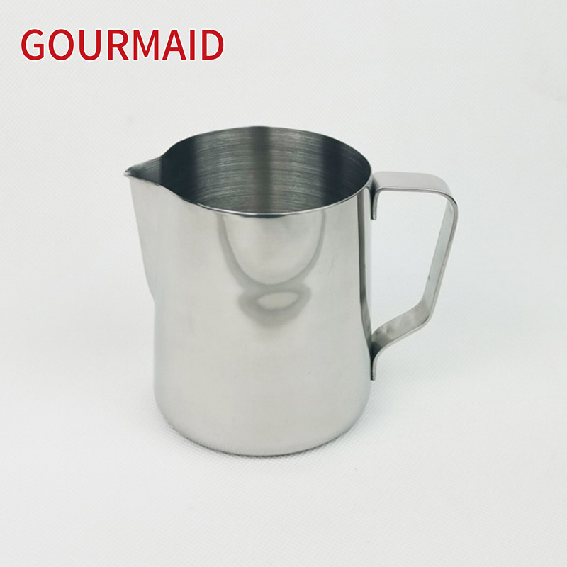stainless steel 600ml coffee milk frothing pitcher Featured Image