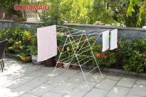 Winged Indoor Clothes Airer