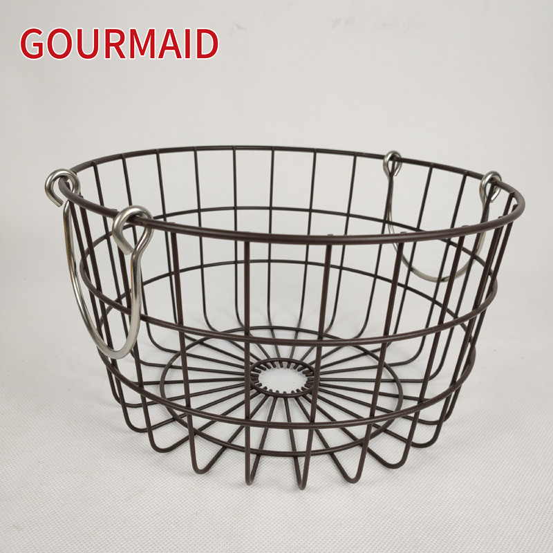 Round Nesting Baskets With Copper Handles Featured Image