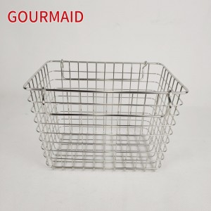 Stainless Steel Chrome Wire Storage Basket