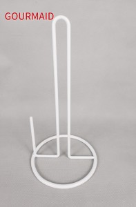 Vertical Steel Wire Paper Towel Holder