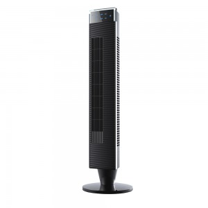 "DF-AT0316F(40.5"")Tower Fan,Detachable,Anion,with Remote Control,Strong wind,timer,90° horizontal oscillation,LED Display"