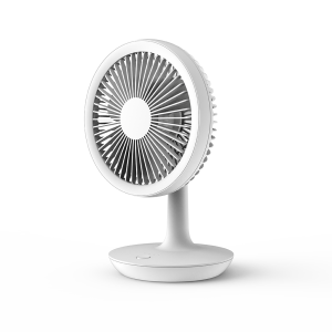 DF-EF0511DD mini rechargeable fan; USB connection; low noise; desk table personal fan; 90° vertical oscillation by hand; suit for office, camping, making up, studying and going outside; optional re...