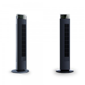"DF-AT0315F(36"") Tower Fan,Detachable,Anion,with Remote Control,Strong wind,timer,90° horizontal oscillation,LED Display"