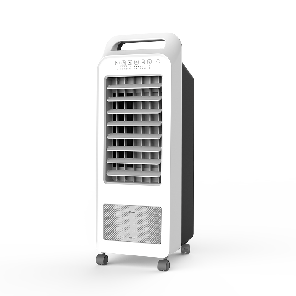 DF-AF1501C Portable Air Cooler Fan for Home with Remote Control ,Timer Function, 3 Speeds, 3 Wind Settings & Oscillation ,removable water tank 5.5L, User friendly handle Featured Image