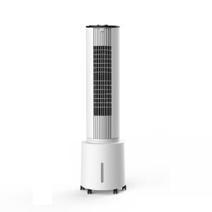 DF-AT2028C Cooling Tower Fan , Tower air cooer, Remote Control, Portable, 90° Oscillating, 3 Speed Settings with Timer Function, 45W Copper Motor, for Home or Office, removable water tank