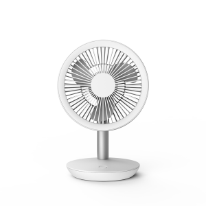 DF-EF0513D mini rechargeable fan; USB connection; low noise; desk table personal fan; 90° vertical oscillation by hand; suit for office, camping, making up, studying and going outside