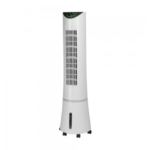 DF-AT2025C Slim Tower air cooer, Remote Control, Portable, 90° Oscillating, 3 Speed Settings with Timer Function, 45W Copper Motor, for Home or Office