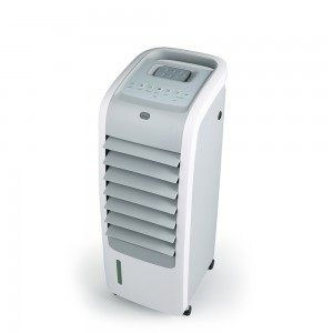 DF-AF2808K Portable 4-in-1 Evaporative Air Cooler with PTC Heater, Humidifier and Air Purifier Functions, 3 Fan Speeds with Oscillation, removable Water Tank, 2 heat setting, ECO function, IMD cont...