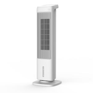 DF-AT2501KG1 TOWER 4-in-1 Evaporative Air Cooler with PTC Heater, Humidifier and Air Purifier Functions, 3 Fan Speeds with Oscillation, 90°Oscillation, 2 heat setting, ECO function, Touch control p...