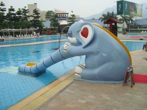 Hot selling high quality water park water slide