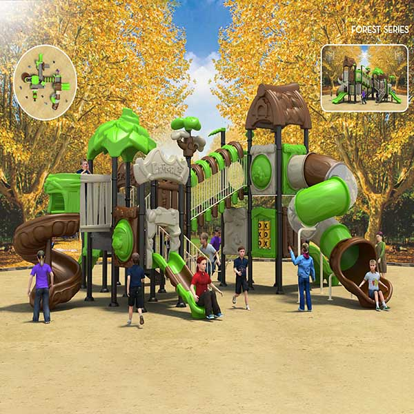 Factory Directly Sale Outdoor Playground Equipment Children Slide Featured Image