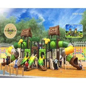 Factory Directly Sale Outdoor Playground Equipment Children Slide