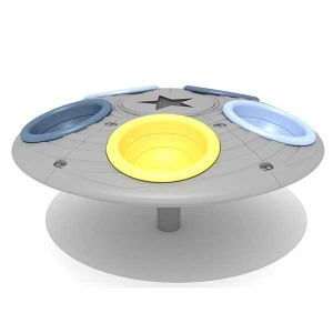 Factory direct outdoor perfect fun equipment UFO turntable