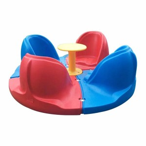 High quality playground toy rotating chair
