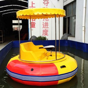 High-quality water play equipment children and adults electric bumper boat