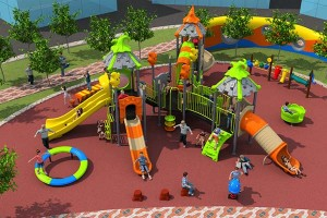 Interaction Between Outdoor Children's Play Equipment And The Environment
