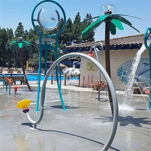 Kids Splash Park Equipment splash interactive equipment