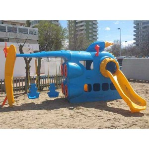 Large Space Fish Boat Playground