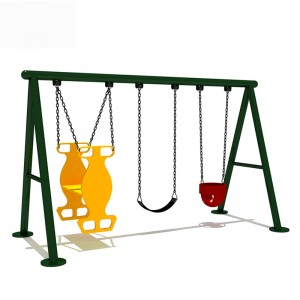 Popular children's outdoor playground equipment swing sets