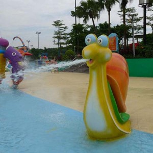 Quality water park water spray toy