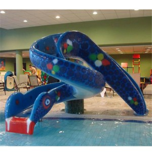 Snake slide for kids water playground water park