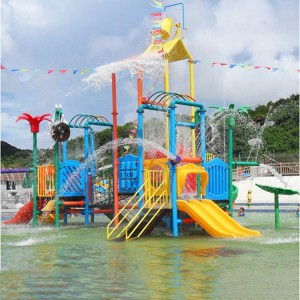 Water park playground equipment