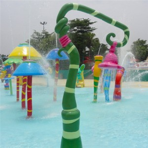 Water park spray equipment Water splash equipment