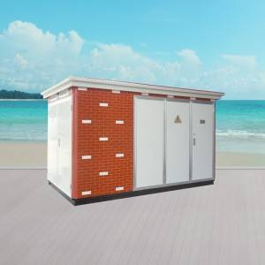 YB-12/0.4 Outdoor Prefabricated Substation (European type)