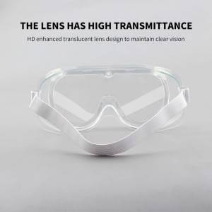 Adjustable Protective Sunglasses Manufacturer Chemical Anti Fog Eye Safty Glasses For Adult With CE FDA Certification Stocks
