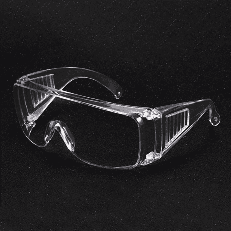 Safety Glasses Over Glasses Goggles Protective Eyewear – Anti Fog Glasses Shooting Glasses Eye Protection with Clear Vision,Scratch & UV Resistant Safety Glasses Fit Over Prescription Glasses for Work Lab Men Women Featured Image